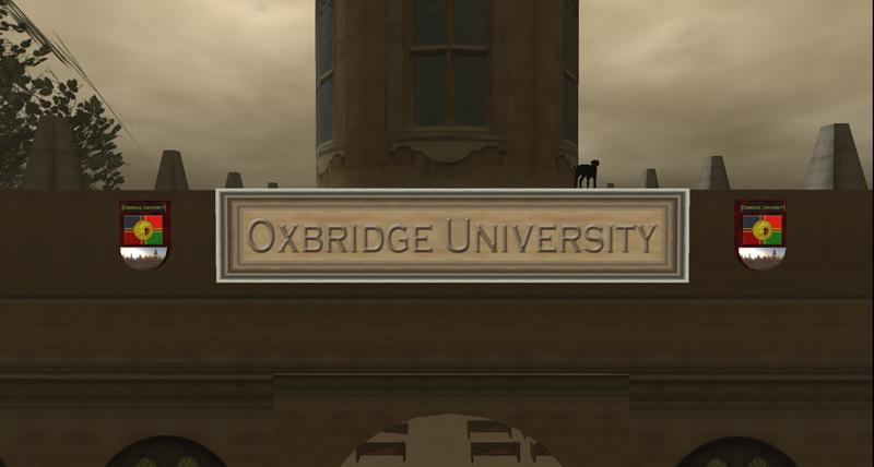 Caledon_Oxbridge Uni Sign