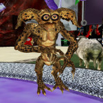 Chicichita Kalamunda got this awesome Gremlin avi from a lucky chair at http://slurl.com/secondlife/Tuatara/146/66/2