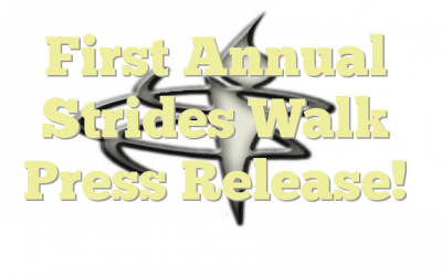 First Annual Strides Walk Press Release!