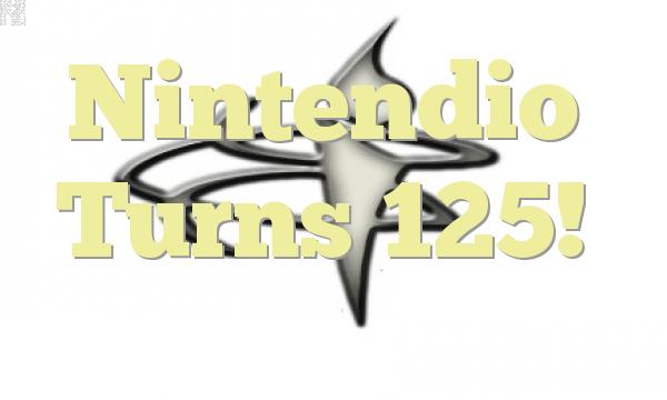 Nintendio Turns 125!