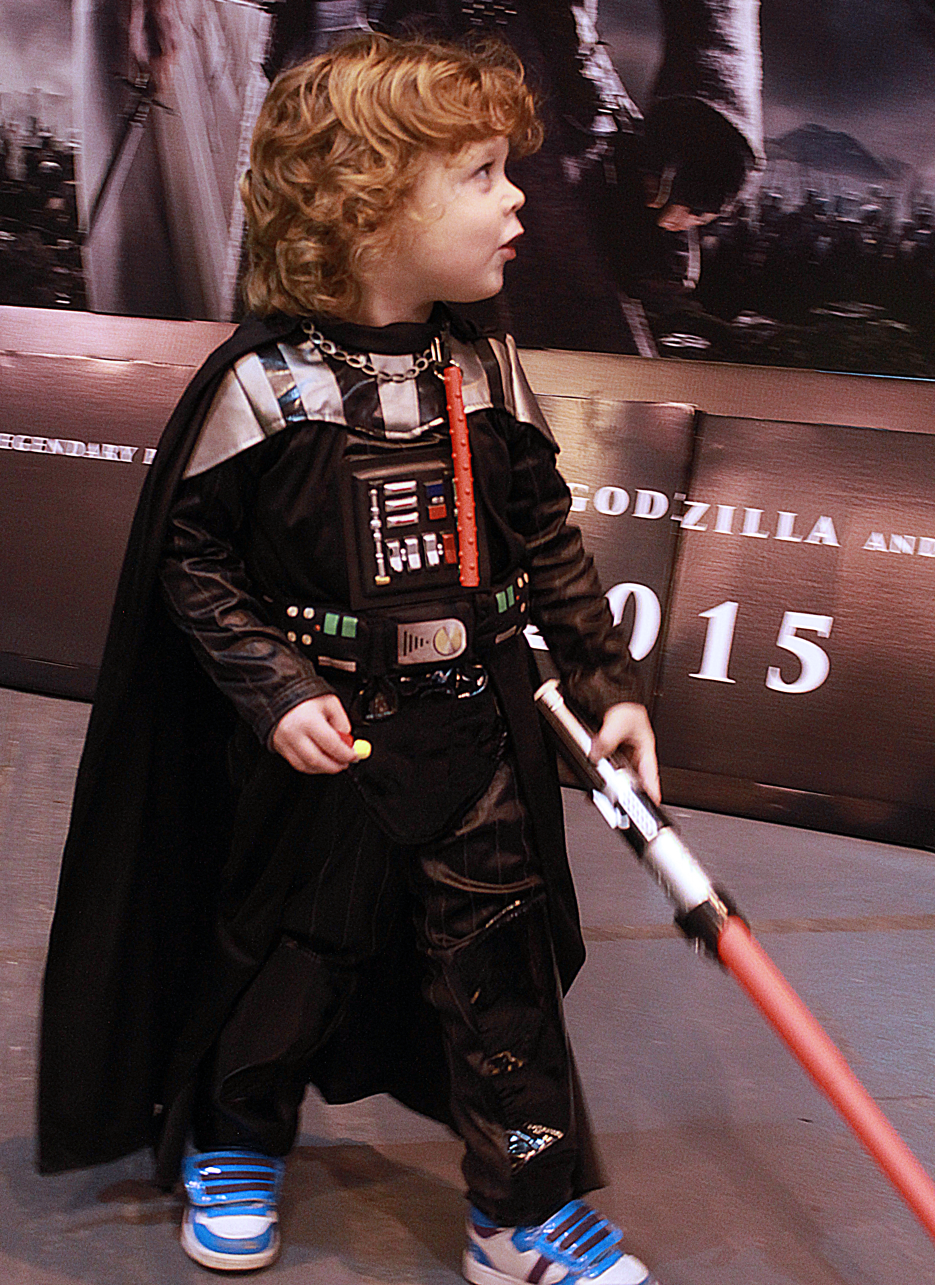 A mini-Vader! MCM Midlands, Feb 2015