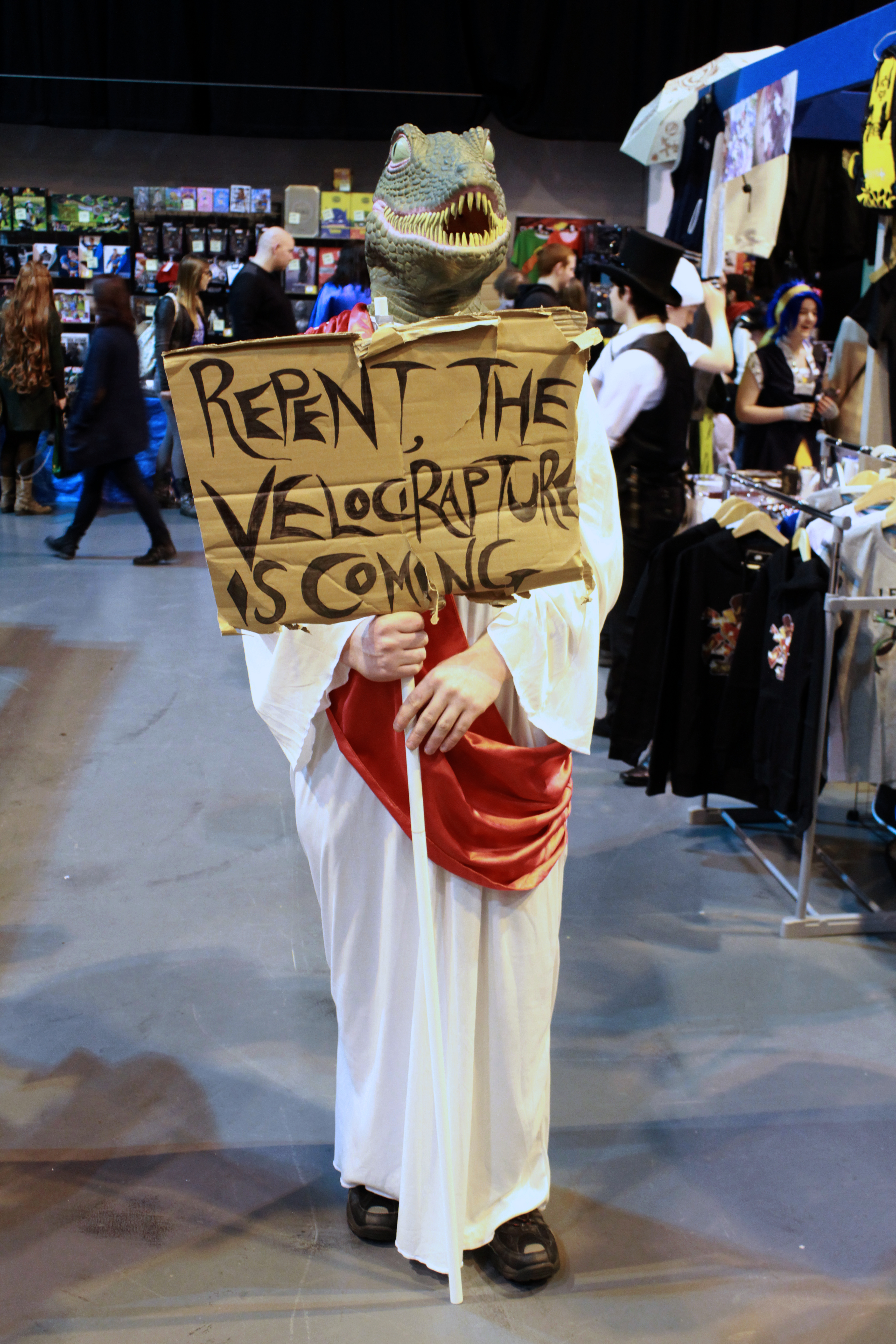 REPENT! THE VELOSO-RAPTURE IS UPON US! MCM Midlands, Feb 2015