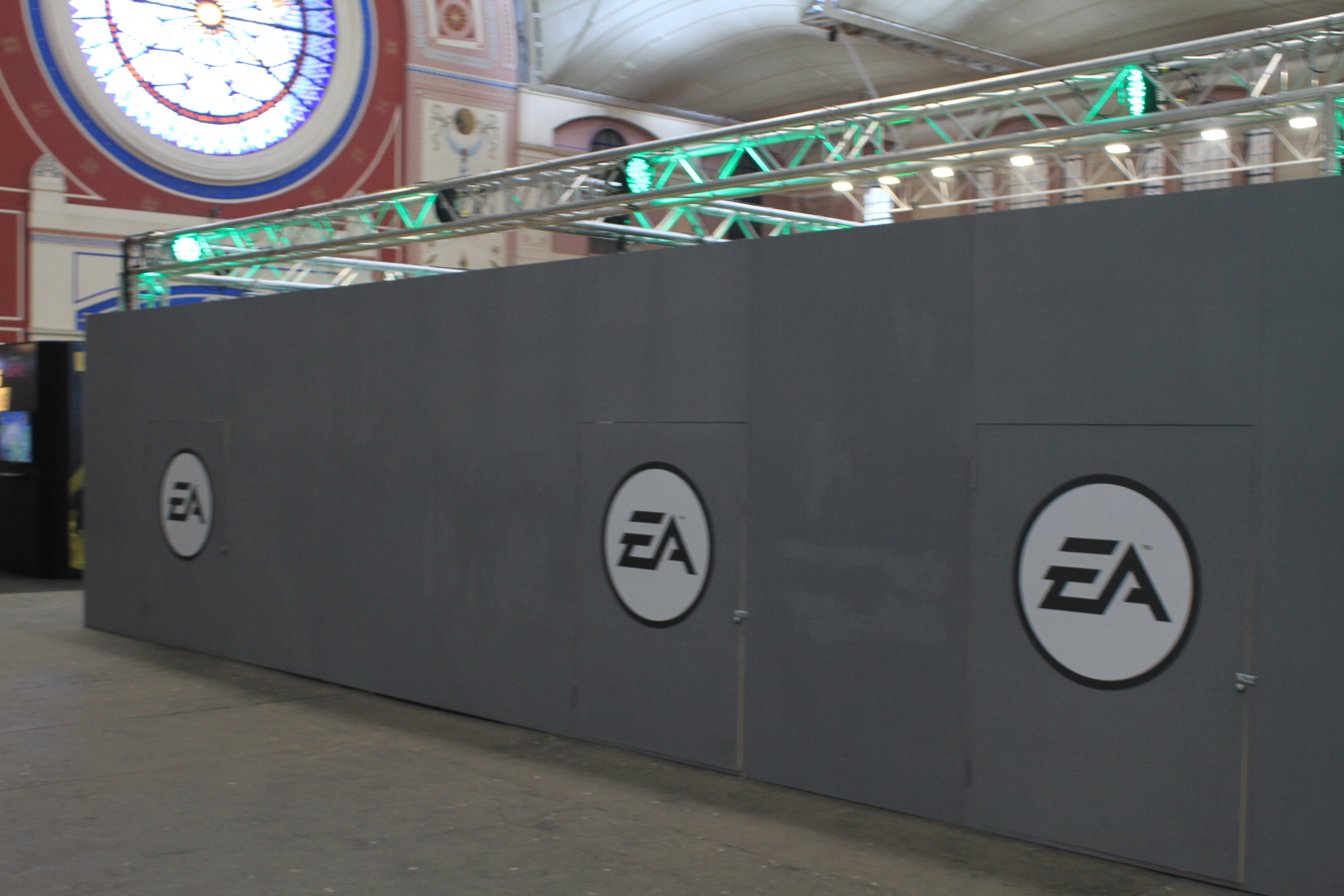 """I think this is al of what EA wanted me to take pictures of.  William Morris, 2015 """"Legends of Gaming Live 2015"""""""