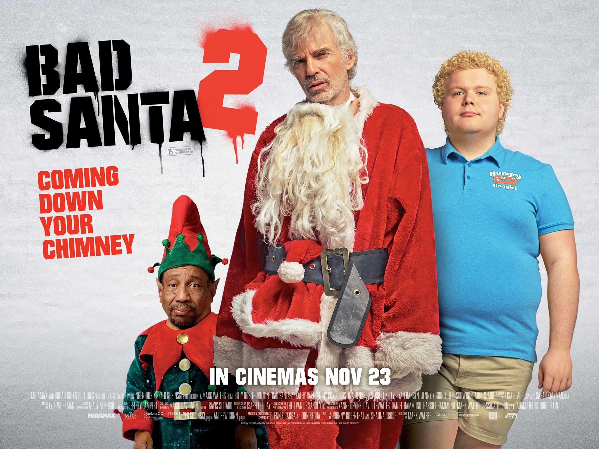 Image result for bad santa 2