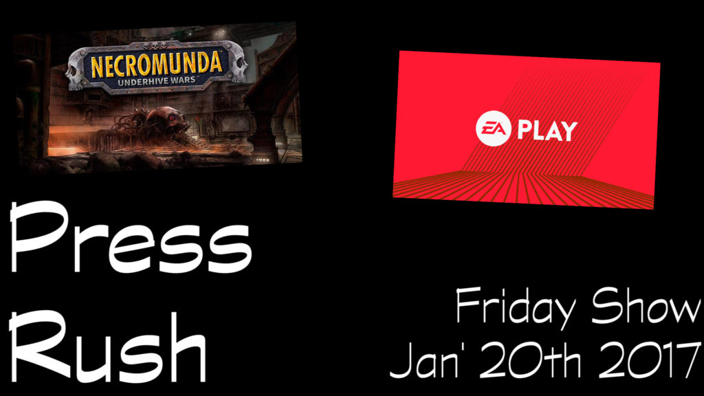Press Rush 21th jan 2017