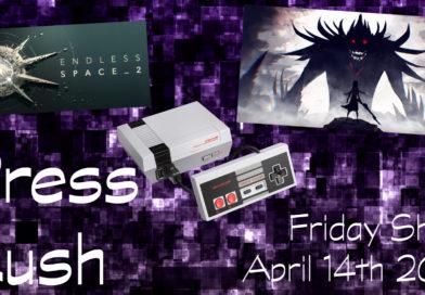 Press Rush | April 14th 2017 (#PrepareToDine, NES Classic & Endless Space 2)