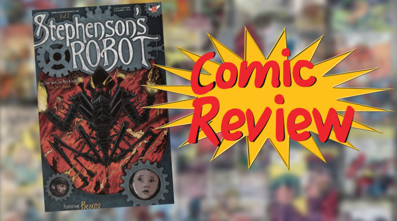 Comic Revie stephensons robot thumb
