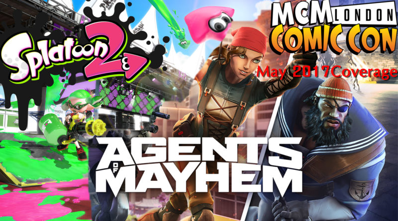 MCM Agents Splatoon banner
